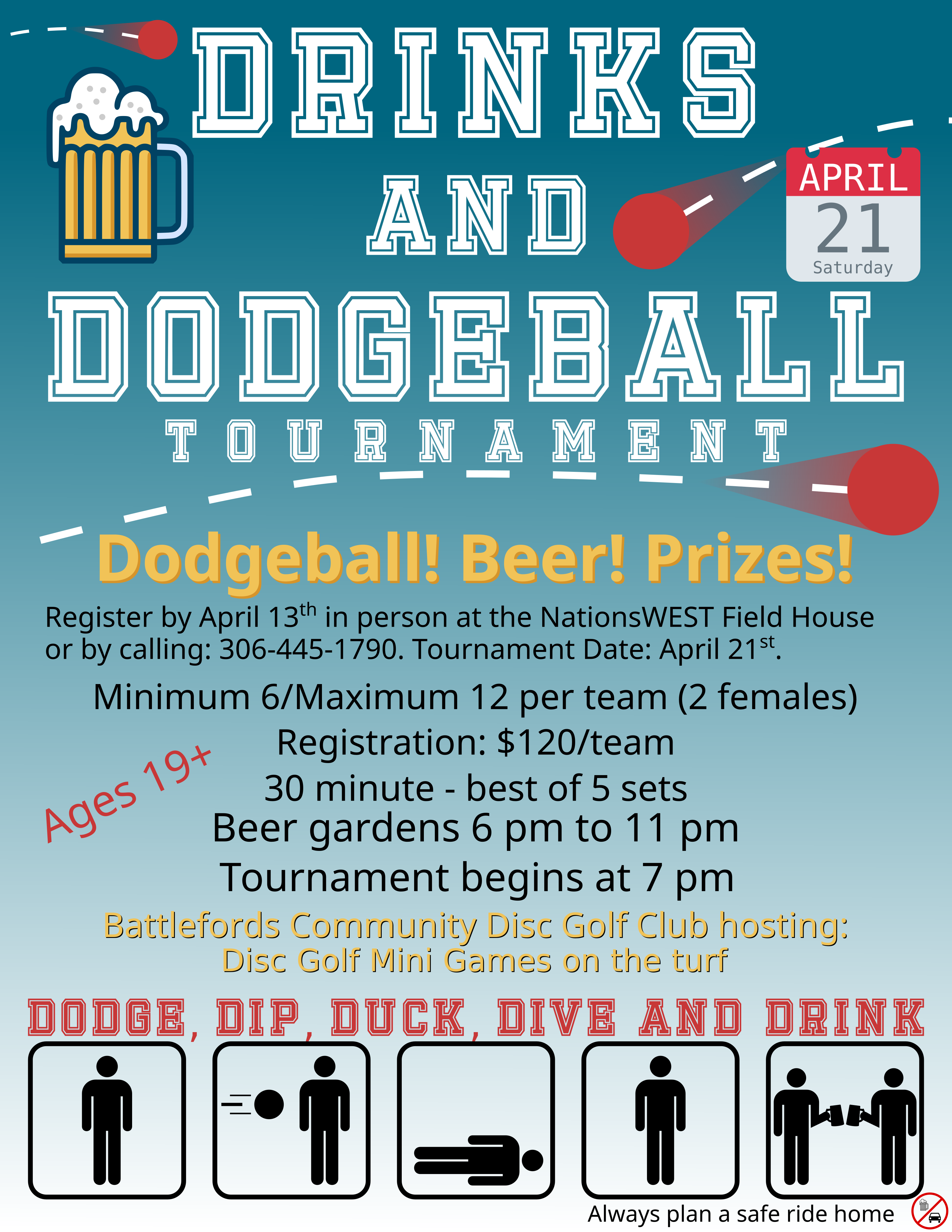 Drinks and Dodgeball2