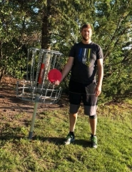 James G, July 12 2018, Centennial Park hole 5