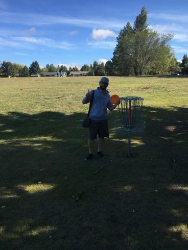 Jason W. September 9 2018, Centennial park hole 17 (alternate tee box)